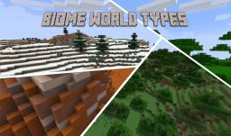 [1.10.2] Biome World Types - Rewritten and massively improved! Minecraft Mod