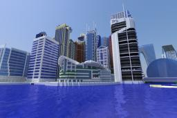 Modern/Future City Minecraft Map & Project