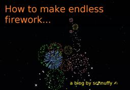 Firework Commands (and how to use them)
