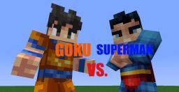 Goku Vs Superman Animation (Part 1) Minecraft