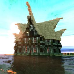 Nordic house Minecraft Project