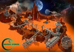 Space City Nexsus Hyron Minecraft Map & Project