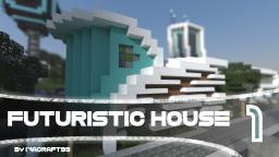 One | A Futuristic House Minecraft Map & Project