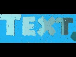 Animation Art - Cubes into text Minecraft Blog
