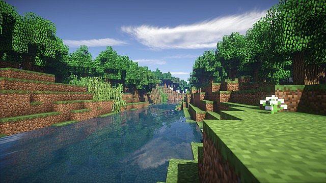 Река, которая протекает через весь остров.
