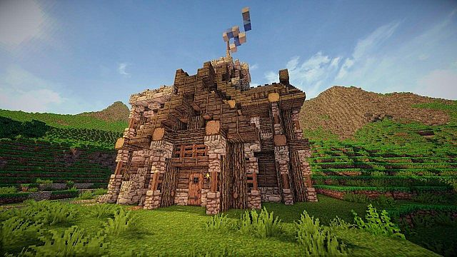 Small Viking Keep Minecraft Project