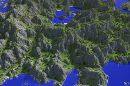[Realistic terrain] Coastal moutains Minecraft