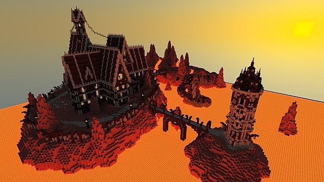 Eskmorra nether fortress download minecraft project for Fortress build
