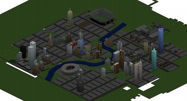1 8] Olympia City Map Download | Planeta Minecraft