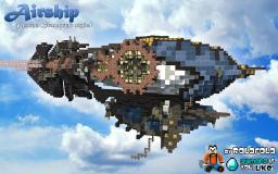 [Persian Steampunk] Airship Minecraft Map & Project