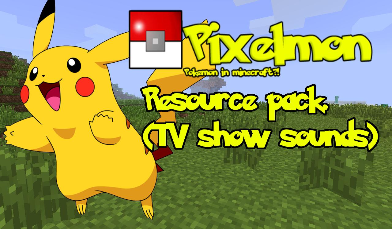 pixelmon sound from the tv show minecraft texture pack
