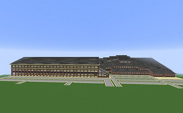 Minecraft High School Minecraft Project