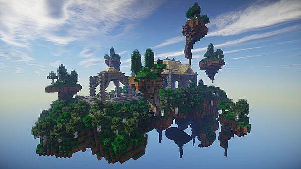 Minecraft скачать sky block