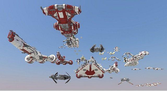 Star Wars Vehicle Collection Work In Progress Minecraft