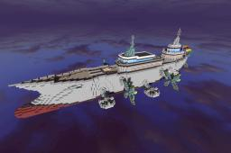 Steampunk Ship Minecraft Map & Project