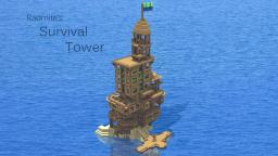 Island Survival Tower Minecraft Map & Project