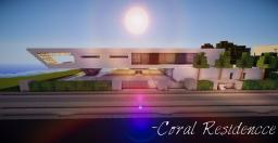 Coral Residence-Minimalist Concept House |WoK| Minecraft Map & Project