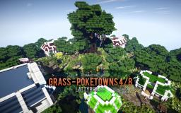 Grass - Pokemon town 4/8 [Commission] Minecraft Map & Project