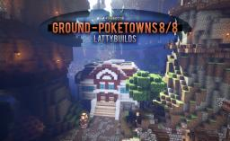 Ground - Pokemon town 8/8 [Commission] Minecraft Map & Project