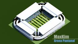 Soccer Stadium: Arena Pantanal 2014 World Cup Minecraft Map & Project