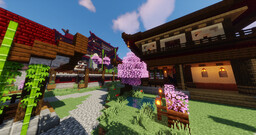 Huokori -  Japanese Style City Minecraft Map & Project
