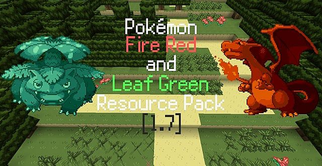 minecraft pokemon fire red map download