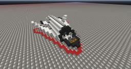 Space shuttle IVT Minecraft Map & Project