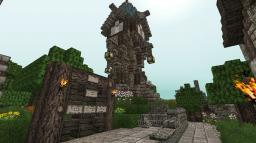 Small Mage Tower Minecraft Project