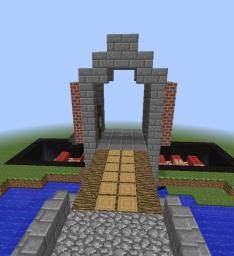 Fully movable drawbridge (14w21b) Minecraft Map & Project
