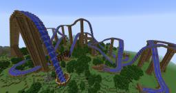Minecraft Roller Coaster - Adventure Tide Minecraft Map & Project