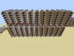 8Bit/128byte Vertical Decoder (vanilla insta wire)(Computer Component Series) Minecraft Map & Project