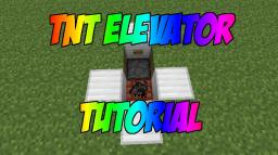 TNT Elevator (Compact & Underground) Minecraft Map & Project