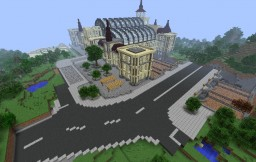 Huge Trainstation [CSP] Minecraft Map & Project