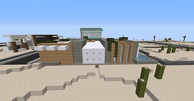 Minimalistic modern house world of keralis server for Modern house 5 keralis