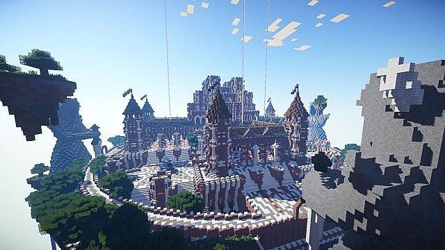 Epic Castle Server Spawn Minecraft Project