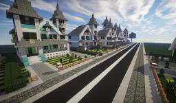 A medium town Minecraft Project