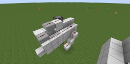 2x1 Vertical Piston Door (Original Design [I Think]) Minecraft Map & Project