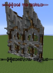 How to build: Medieval. [Advanced] Minecraft Blog Post