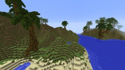 Small Topical Islands Minecraft Map & Project