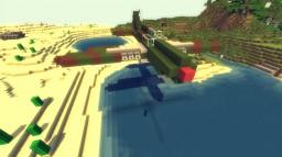 P-40 Warhawk Minecraft Map & Project