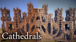 Two Cathedrals Minecraft Map & Project