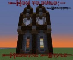 How to build: Medieval. [Beginner] Minecraft Blog