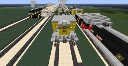 Jappar's Rail mueseum Minecraft Map & Project