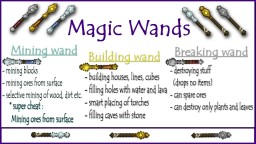 Sphax addon - Magic Wands - MOD PATCH Minecraft Texture Pack