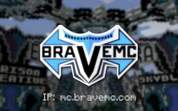 ✦ BraveMC ✦ |CREATIVE|FACTIONS|SKYBLOCK|OP PVP|SKYWARS Minecraft Server