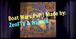 Boat Wars! | New Minecraft PvP Mini-Game Minecraft Map & Project