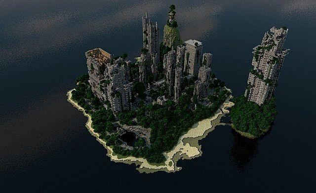 Apocalypse Island Dragon City Map