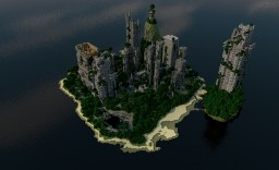 [Map] — Despair Island — Island with postapocalypse city! Minecraft
