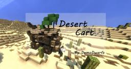 """Desert Cart"" Minecraft Map & Project"