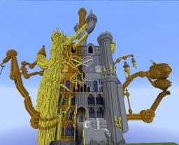 Hollow Bastion [KINGDOM HEARTS 1] in server! Minecraft